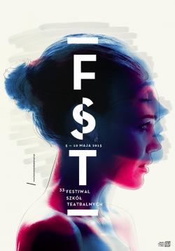 优雅的FST创意海报设计艺术