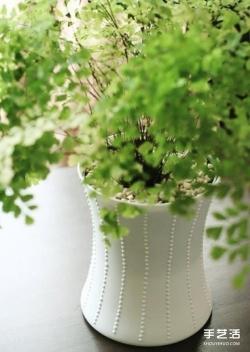 自制玻璃花盆的方法 手工DIY玻璃瓶花盆教程
