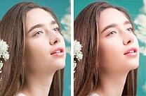 Photosho如何打造干净清爽的花季少女容妆