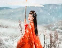 用PS把照片调成冬季雪景效果