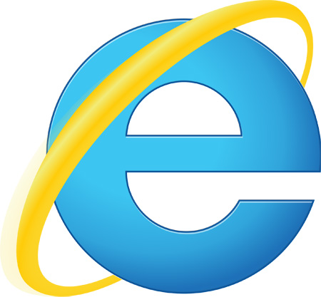 Old Internet Explorer Logo