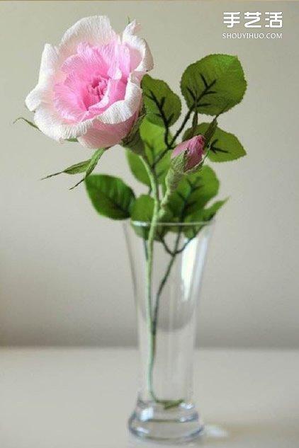 美丽宛如真花的手工折纸花朵的折法图解教程