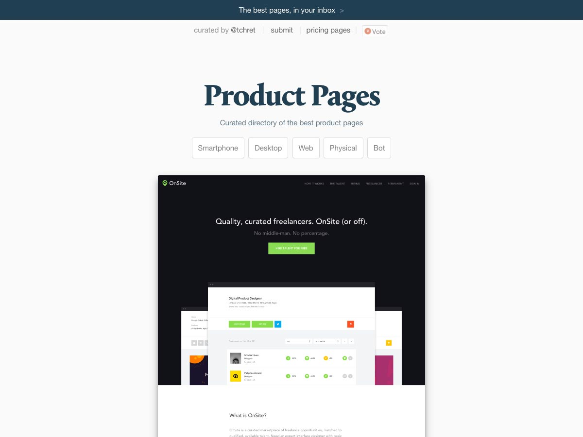productpages