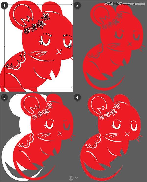 做得好,到此我们就完成了! 最后,为每个图案白的剪影加上白边,设定值为6pt(粗细由你定),使他们真正适合于任何你选择用作图标组合的背景颜色。既然你已经完成了你的中国十二生肖图案组合,继续在排版软件Adobe InDesign中用Grace Fussell来完成这个项目设计一个恭贺新年的十二生肖日历。在这些相关教程的评论区下和大家分享你的设计成果吧!