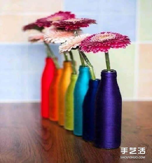 花瓶的方法步骤