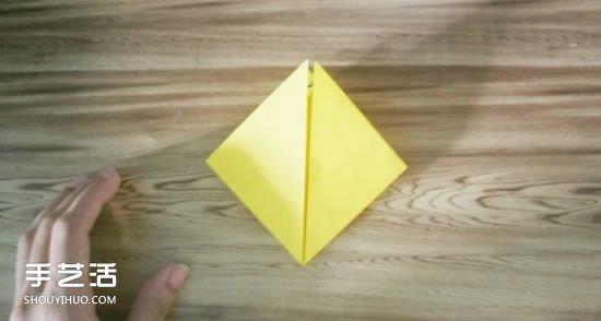 怎么折皮卡丘的方法 手工皮卡丘折纸步骤图 -