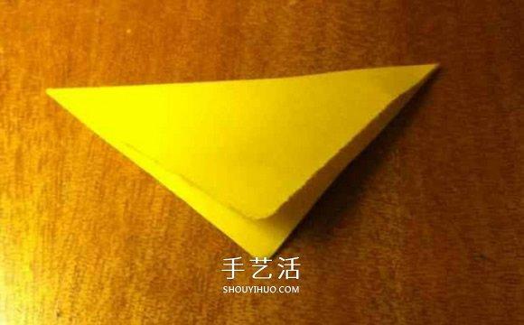 幼儿枫叶的折纸方法 简单折叠枫叶图解教程 -