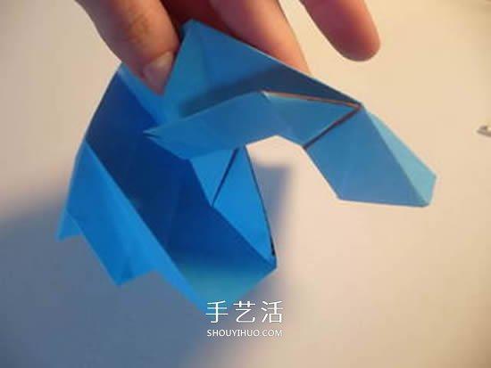 手工玫瑰花怎么叠图解 玫瑰花折叠方法教程 -