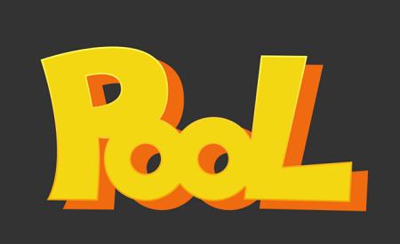 Photoshop绘制POP风格的卡通文字效果,PS教程,素材中国网