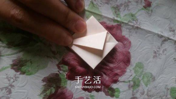 百合花的折法简单易学 怎么折百合花的图片 -