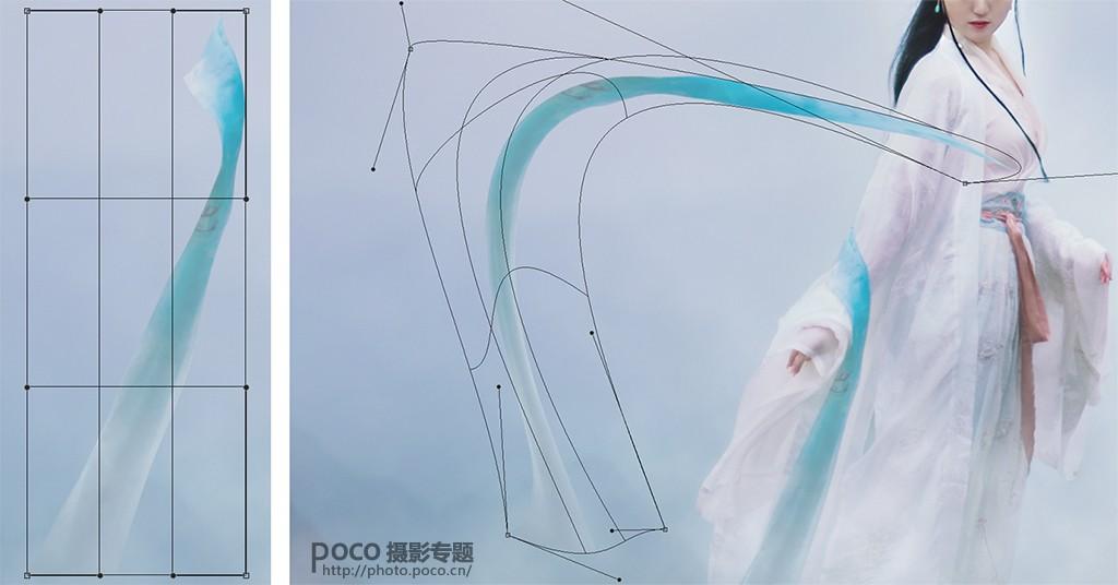 photoshop制作唯美仙境场景的古风人像,ps教程,素材中国网
